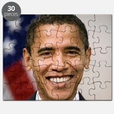 smiling_portrait_of_Barack_Obama-close-up Puzzle