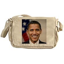smiling_portrait_of_Barack_Obama-clo Messenger Bag