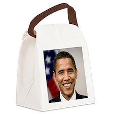 smiling_portrait_of_Barack_Obama- Canvas Lunch Bag