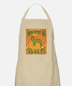 Groovy Terrier BBQ Apron
