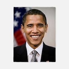 smiling_portrait_of_Barack_Obama Twin Duvet