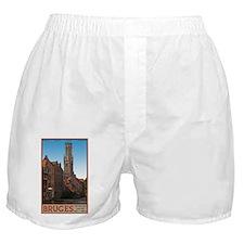 Bruges - The Belfry Boxer Shorts