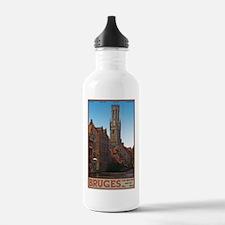 Bruges - The Belfry Water Bottle