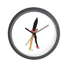 Makers of Sense - To the Warhouse [Blac Wall Clock