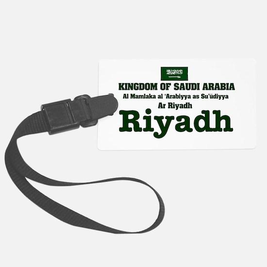 SAUDI ARABIA - RIYADH Luggage Tag