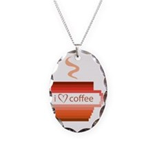 I-love-coffee Necklace