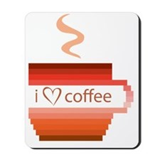 I-love-coffee Mousepad