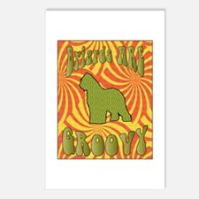 Groovy Briard Postcards (Package of 8)