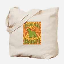 Groovy Briard Tote Bag