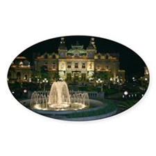 Monte Carlo Casino at Night Decal