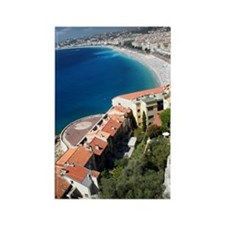 Promenade des Anglais Rectangle Magnet