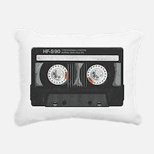 mix tape cassette Rectangular Canvas Pillow