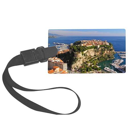Monaco Castle Large Luggage Tag