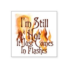 "Flashes2 Square Sticker 3"" x 3"""