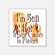 "Flashes2 Square Sticker 3"" x 3"""