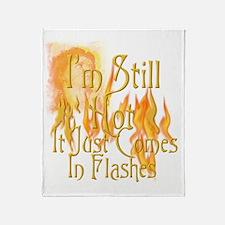 Flashes3 Throw Blanket