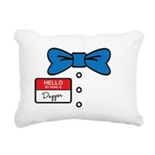 dapper Rectangular Canvas Pillow