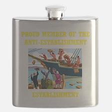 ANTI-ESTABLISHMENT YEA PARTY Flask