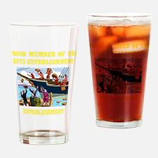 ANTI-ESTABLISHMENT YEA PARTY Drinking Glass
