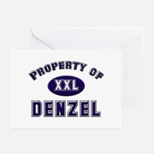 Property of denzel Greeting Cards (Pk of 10)