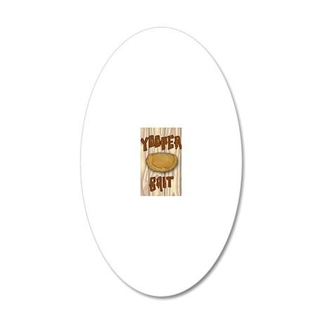 YoopBaitVB 20x12 Oval Wall Decal