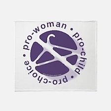 PCPCircle2 Throw Blanket