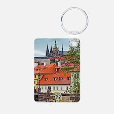 Prague - St Vitus and Prag Keychains
