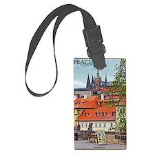 Prague - St Vitus and Prague Cas Luggage Tag