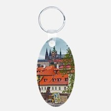 Prague - St Vitus and Pragu Keychains