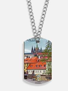Prague - St Vitus and Prague Castle Dog Tags