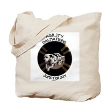 Agility Dalmations Jump Tote Bag