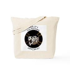 Agility Dalmations Jump Tote Bag