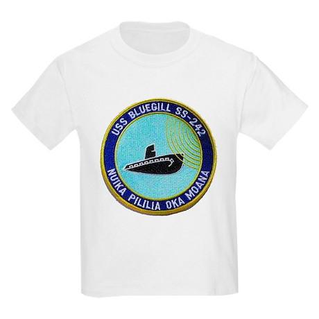 USS BLUEGILL Kids T-Shirt