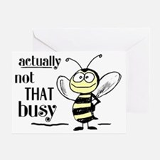 notthatbusybee Greeting Card