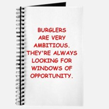 burglars Journal