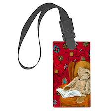 readingbear.iphone Luggage Tag