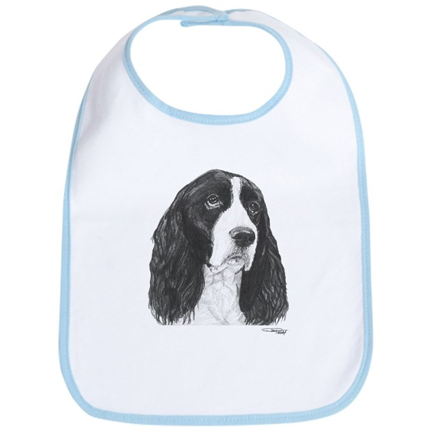 English springer spaniel bib by dpartgallery for English springer spaniel coloring pages