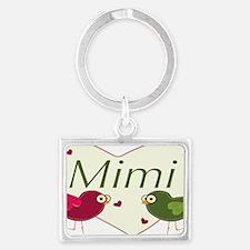 mimilovebirds Landscape Keychain