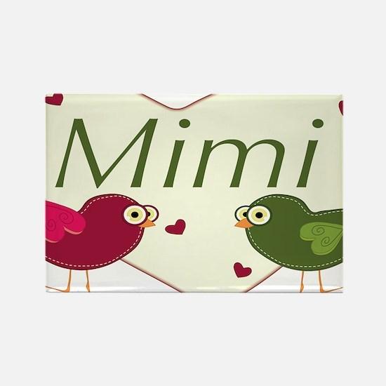 mimilovebirds Rectangle Magnet