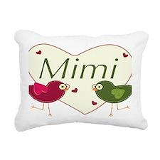 mimilovebirds Rectangular Canvas Pillow