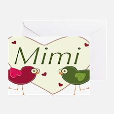 mimilovebirds Greeting Card