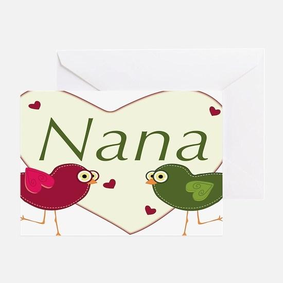 nanalovebirds Greeting Card