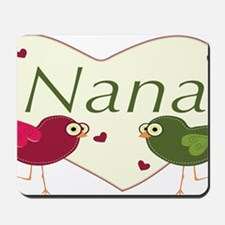 nanalovebirds Mousepad