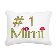 No1Mimi Rectangular Canvas Pillow