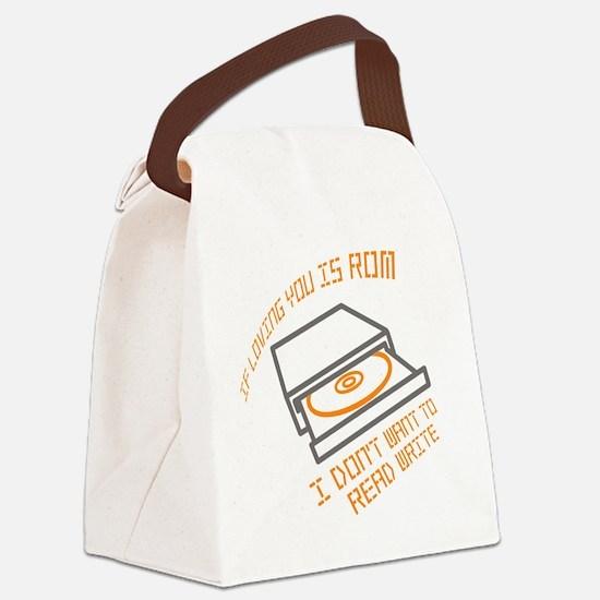 ROMfinal Canvas Lunch Bag