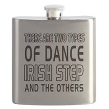 Irish Stepdance Dance Designs Flask