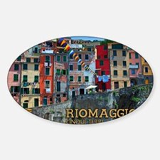 Riomaggiore Waterfront Decal