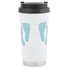 BLUETWINFEET Travel Mug