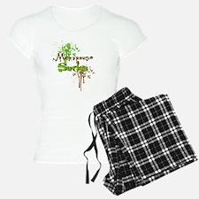 Menopause Sucks Brown Pajamas