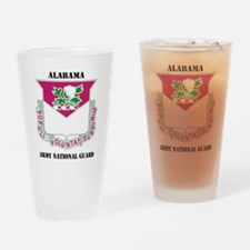 Alabama ANG with text Drinking Glass